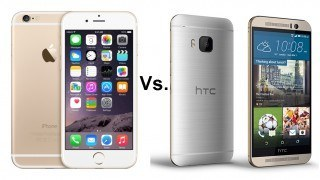 Htc One M9 vs iPhone 6 - Studioweb22.com