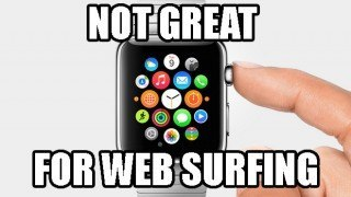 apple watch web browser
