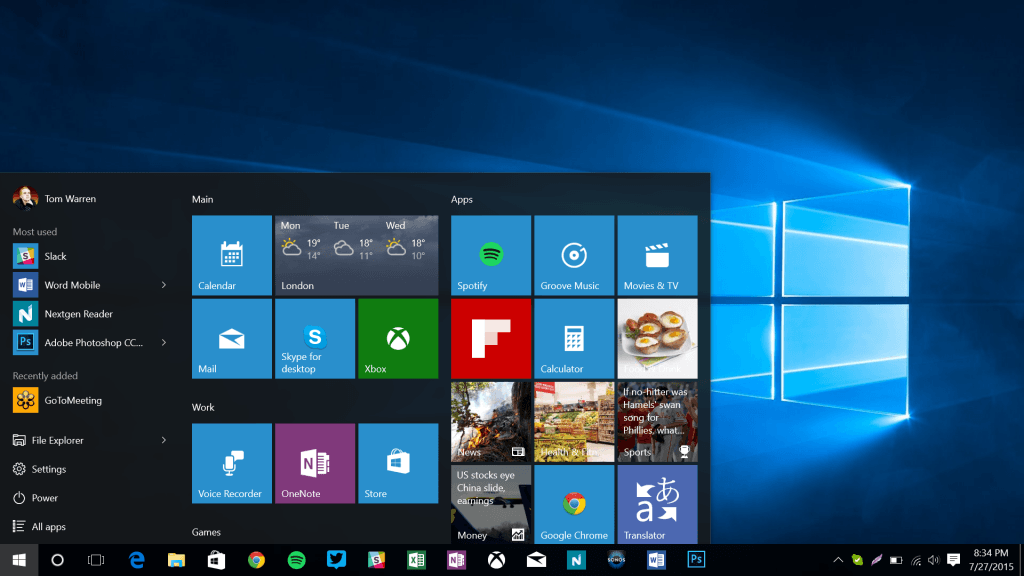 windows 10 develop app